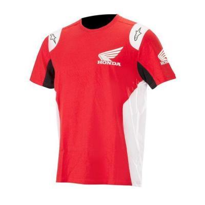 Tee-shirt Alpinestars Honda rouge