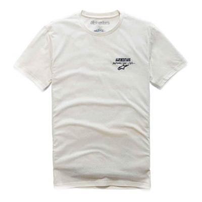 Tee-shirt Alpinestars Meet Premium natural blanc