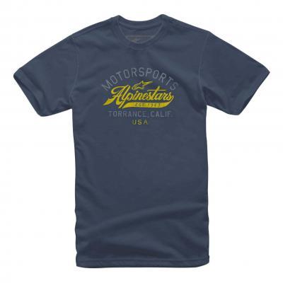 Tee-shirt Alpinestars Motor navy