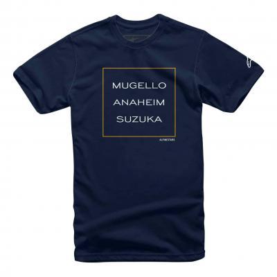 Tee-shirt Alpinestars Mugello navy