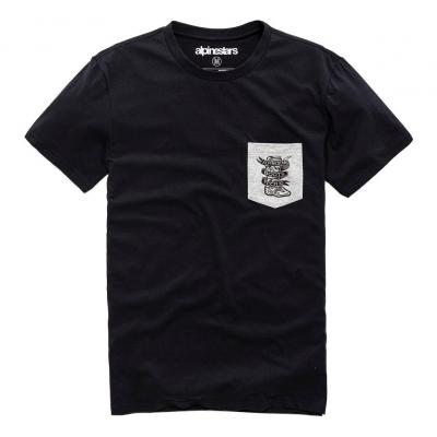 Tee-shirt Alpinestars Service Premium Pocket noir