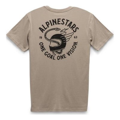 Tee-shirt Alpinestars Spirited khaki beige