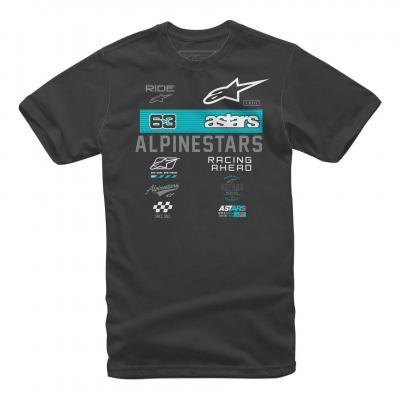Tee-shirt Alpinestars Sponsored noir