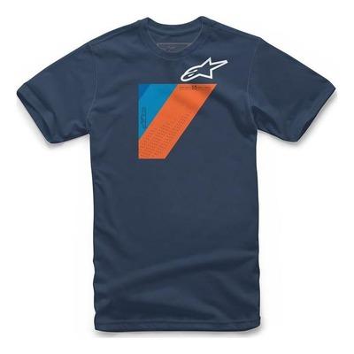 Tee-shirt Alpinestars Wedge navy