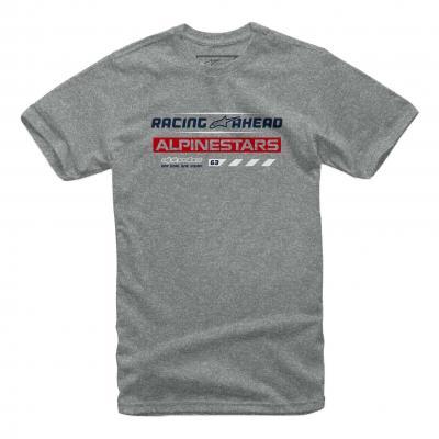 Tee-shirt Alpinestars World Tour gris