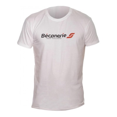 Tee-shirt Bécanerie blanc