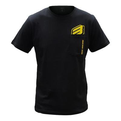 Tee-shirt Bud Racing B-Logo SS Pocket noir
