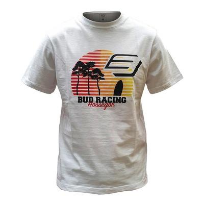 Tee-shirt Bud Racing Sunset blanc