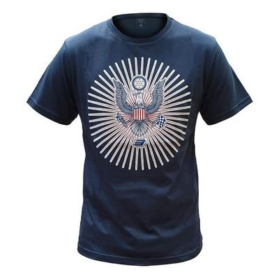 Tee-shirt Bud Racing University bleu