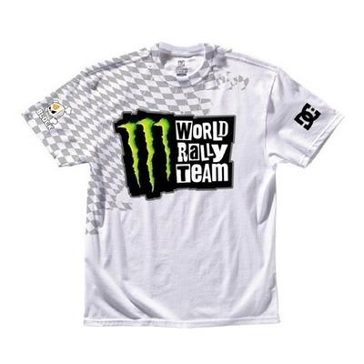 Tee-shirt DC Shoes Monster Ken Block MWRT Wraps blanc