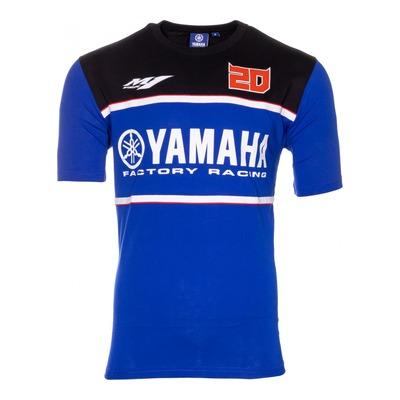 Tee-shirt Dual Yamaha Fabio Quartararo 20 bleu/noir