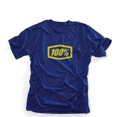 Tee shirt enfant 100% Ride bleu marine