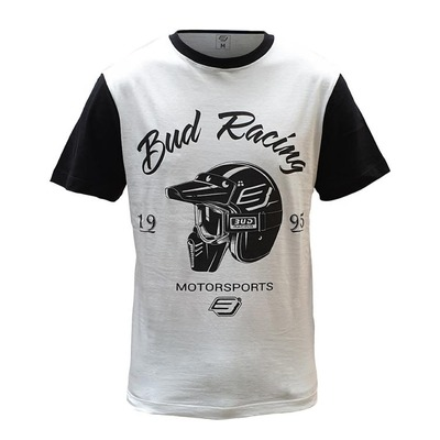 Tee-shirt enfant Bud Racing Helmet blanc