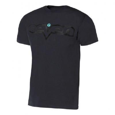 Tee-shirt enfant Seven Brand noir/noir