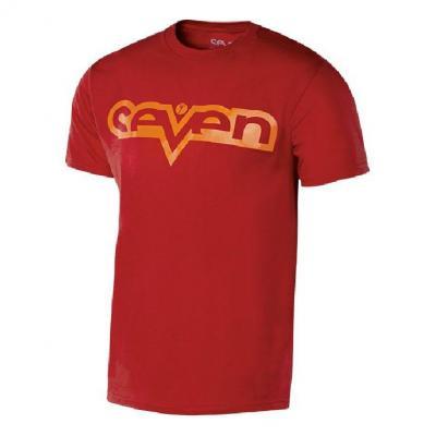 Tee-shirt enfant Seven Brand rouge/rouge