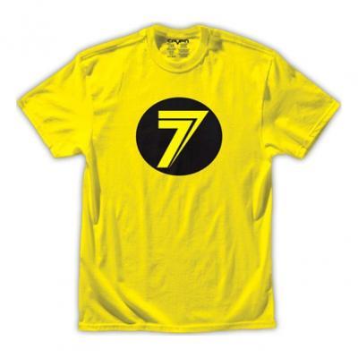Tee-shirt enfant Seven Dot jaune