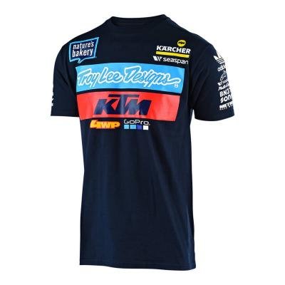 Tee-shirt enfant Troy Lee Designs KTM 2019 navy