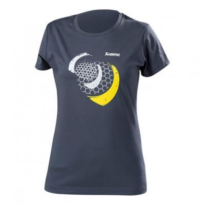 Tee-Shirt femme Akrapovic Mesh bleu