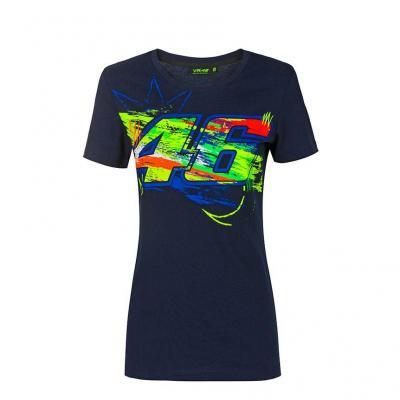 Tee-shirt femme VR46 Winter Test bleu