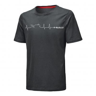 Tee-shirt Held BE HEROIC Design Heartbeat