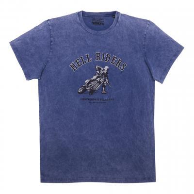 Tee-shirt Helstons/Chevignon Hell bleu indigo
