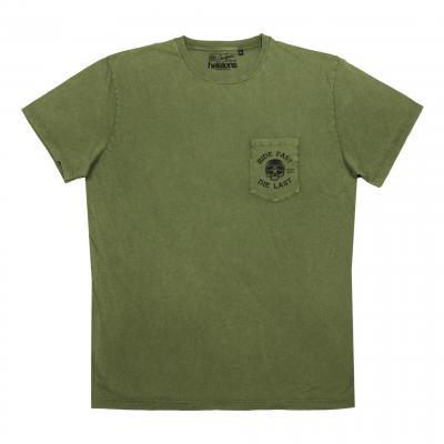 Tee-shirt Helstons/Chevignon vert olive