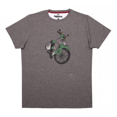 Tee-shirt Helstons Cube gris