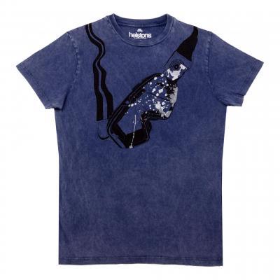 Tee-shirt Helstons Visor bleu