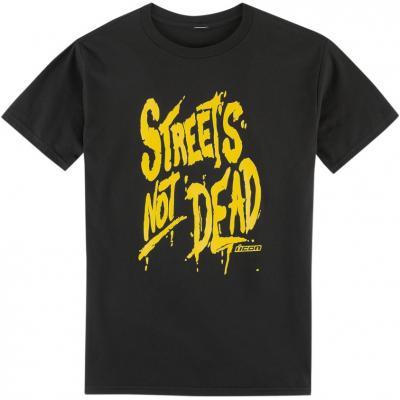 Tee-shirt Icon Street not Dead noir