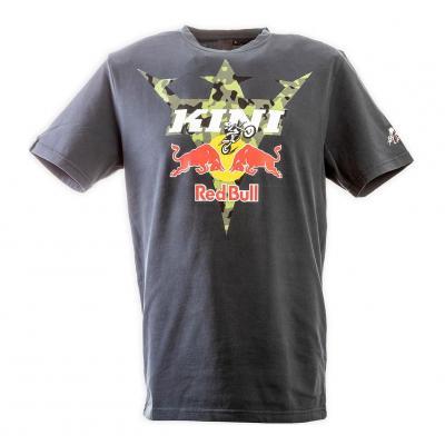 Tee shirt Kini Red bull camouflage/gris