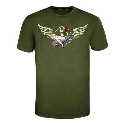 Tee-shirt Lethal Threat Bombs away vert