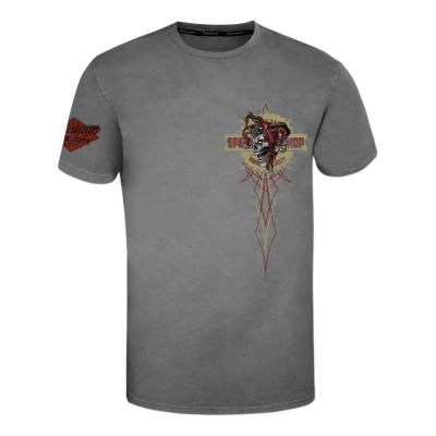 Tee-shirt Lethal Threat Nobody's Fool gris