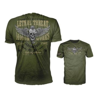 Tee-shirt Lethal Threat Vintage Velocityd Taste ollive