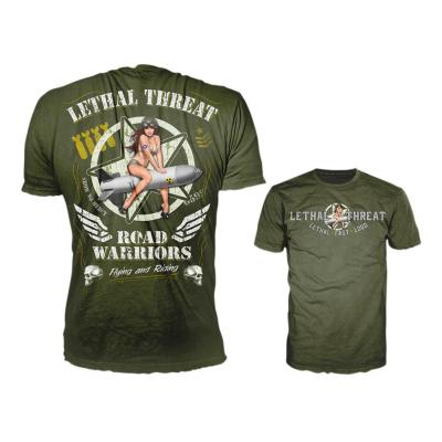 Tee-shirt Lethal Threat Widow Maker olive
