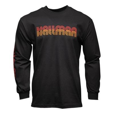 Tee-shirt manche longues Thor Hallman 76 noir