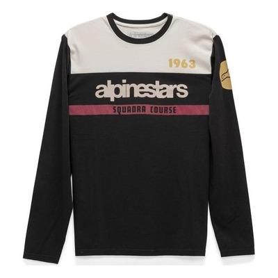 Tee-shirt manches longues Alpinestars Crossup premium noir