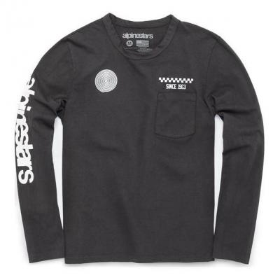 Tee-shirt manches longues Alpinestars The Real Deal charcoal