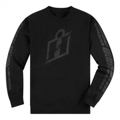 Tee-shirt manches longues Icon Crew neck RS Gardient noir