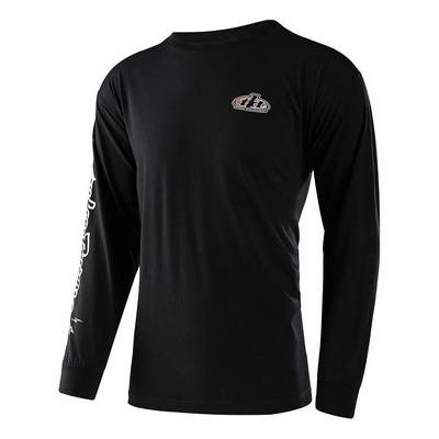 Tee-shirt manches longues Troy Lee Designs Pistonbone 40th noir
