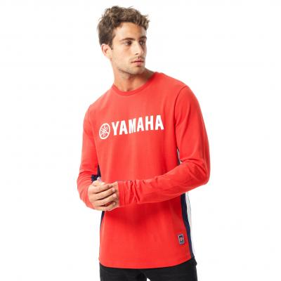 Tee-shirt manches longues Yamaha Outsiders rouge