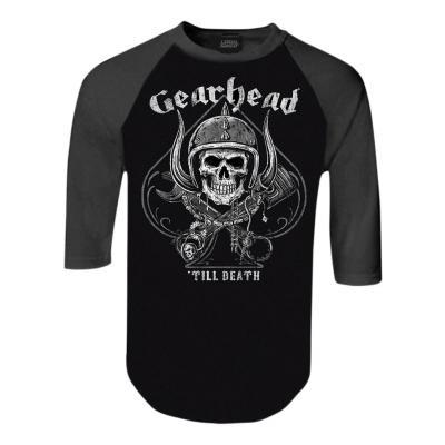 Tee-shirt manches mi-longues Lethal Threat Gearhead gris/noir