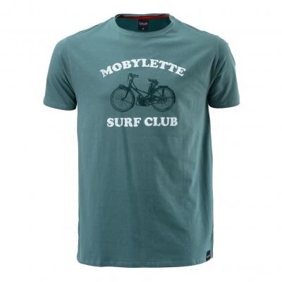 Tee-shirt Pull-in Mobylette vert
