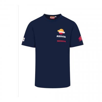 Tee-shirt Repsol Honda Team Wear bleu