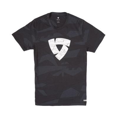 Tee-shirt Rev'it Chester camouflage noir/gris