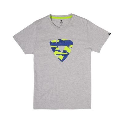 Tee-shirt Rev'it Manor gris/bleu