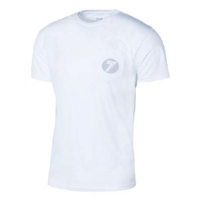 Tee-shirt Seven Badger blanc
