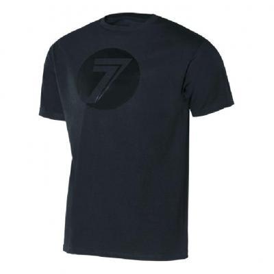 Tee-shirt Seven Dot noir/noir