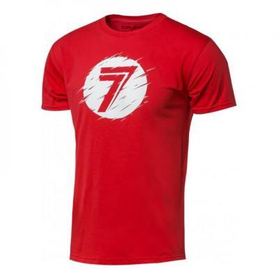 Tee-shirt Seven Dot rouge