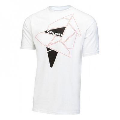 Tee-shirt Seven Geo tee shirt blanc