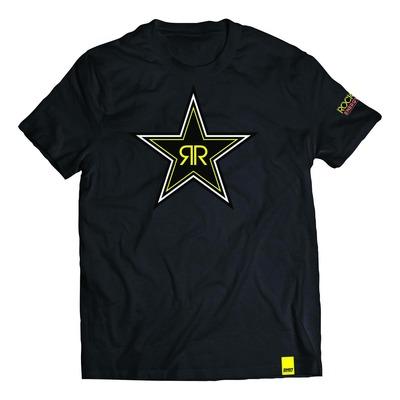 Tee-shirt Shot Rockstar Star noir